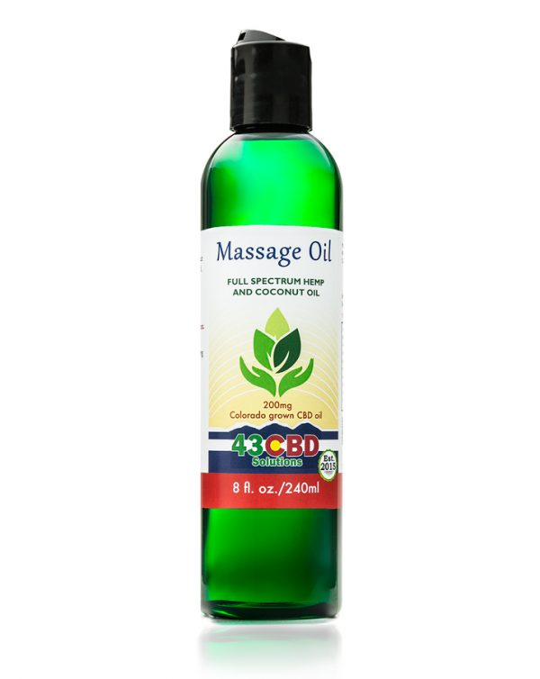CBD Hemp Massage Oil