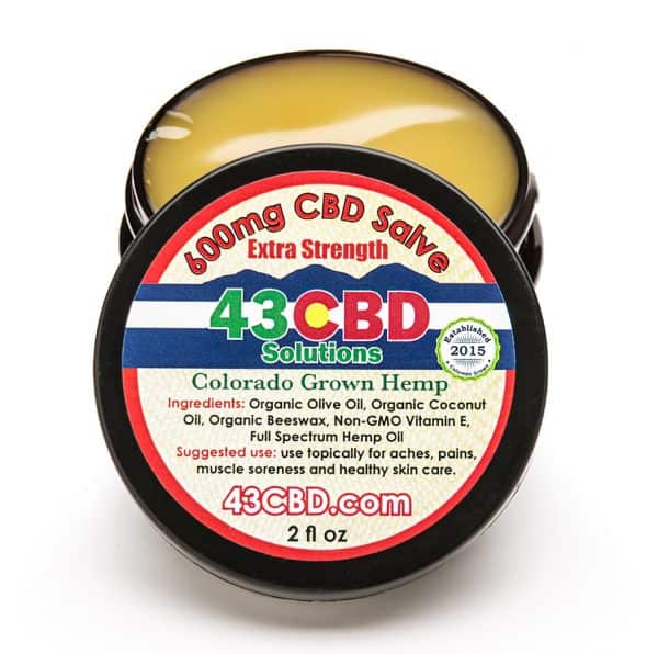 CBD Extra Strength Hemp Oil Salve (600mg)